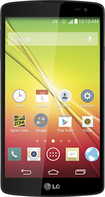 LG - Tribute 4G No-Contract Cell Phone - White/Black