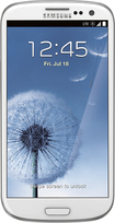 Samsung - Samsung Galaxy S III 4G No-Contract Cell Phone - White