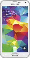 Sprint Prepaid - Samsung Galaxy S 5 4G LTE No-Contract Cell Phone - White