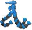 Sunpak - Platinumplus Flexpod Plus Tripod - Blue