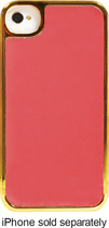 Tribeca - NYC Collection Case for Apple® iPhone® 4 and 4S - Coral/Gold