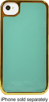 Tribeca - NYC Collection Case for Apple® iPhone® 4 and 4S - Turquoise/Gold