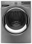 Whirlpool - Duet 4.5 Cu. Ft. 12-Cycle High-Efficiency Steam Front-Loading Washer - Chrome Shadow