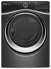 Whirlpool - Duet 7.4 Cu. Ft. 10-Cycle Steam Electric Dryer - Black Diamond