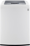 LG - 4.3 Cu. Ft. 8-Cycle Ultralarge-Capacity High-Efficiency Top-Loading Washer - White