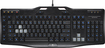Logitech - G105 Gaming Keyboard - Black/Silver