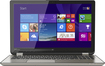 "Toshiba - 2-in-1 15.6"" Touch-Screen Laptop - Intel Core i7 - 12GB Memory - 256GB Solid State Drive - Satin Gold"