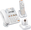 VTech - SN6197 CareLine+ Corded Home Safety Telephone System with Digital Answering System - White