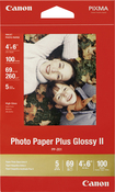 "Canon - 100-Pack 4"" x 6"" Glossy Photo Paper - White"