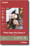 "Canon - 20-Pack 5"" x 7"" Glossy Photo Paper - White"
