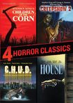 4 Horror Classics: Children Of The Corn/creepshow 2/c.h.u.d./house [2 Discs] (dvd) 8797845