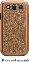 Case-Mate - Glam Case for Samsung Galaxy S III Cell Phones - Rose Gold