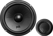 "Polk Audio - 6-1/2"" Component Speakers with Polymer-/Mica-Composite Cones (Pair) - Black"