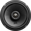 "Polk Audio - 6-1/2"" Coaxial Vehicle Speakers with Bilaminate Polymer-Composite Cones (Pair) - Black"
