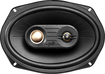 "Polk Audio - 6"" x 9"" 3-Way Coaxial Speakers with Polymer-Composite Cones (Pair) - Black"