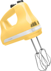 KitchenAid - 5-Speed Hand Mixer - Majestic Yellow