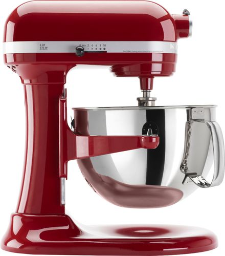 KitchenAid - Professional 600 Series Stand Mixer - Empire Red