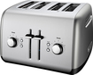 KitchenAid - 4-Slice Wide-Slot Toaster - Contour Silver