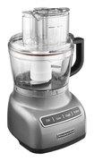 KitchenAid - 9-Cup Food Processor - Contour Silver