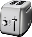 KitchenAid - 2-Slice Wide-Slot Toaster - Contour Silver