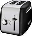 KitchenAid - 2-Slice Wide-Slot Toaster - Onyx Black