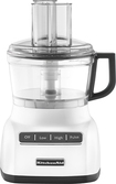 KitchenAid - 7-Cup Food Processor - White