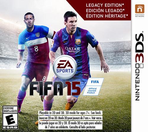 FIFA 15: Legacy Edition - Nintendo 3DS
