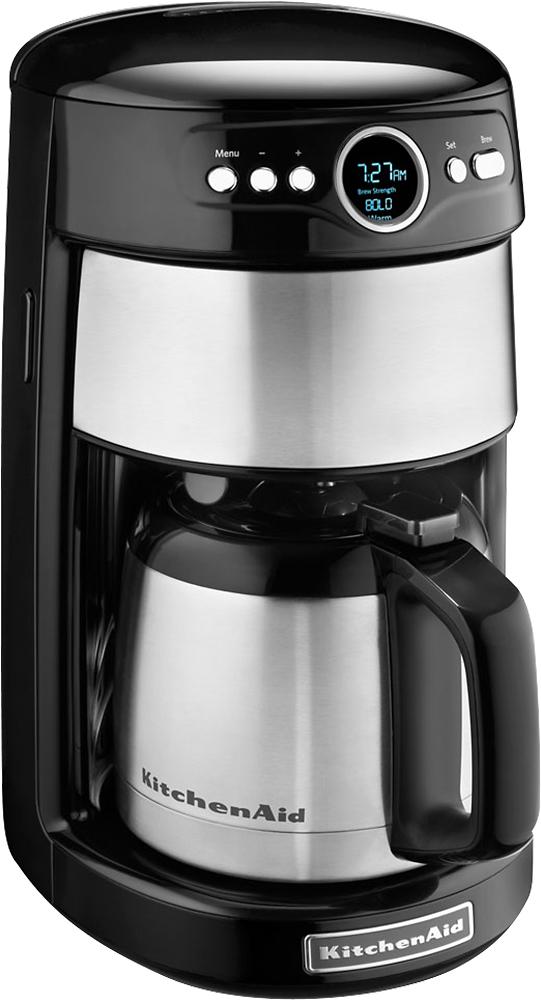 KitchenAid - 12-Cup Coffeemaker - Black