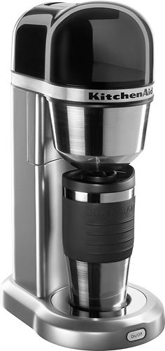 KitchenAid - Personal Coffeemaker - Contour Silver