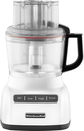 KitchenAid - 9-Cup Food Processor - White