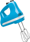 KitchenAid - 5-Speed Hand Mixer - Crystal Blue