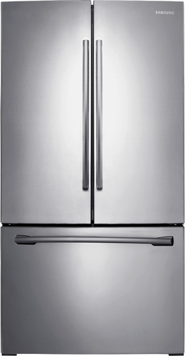 Samsung - 25.5 Cu. Ft. French Door Refrigerator - Stainless steel