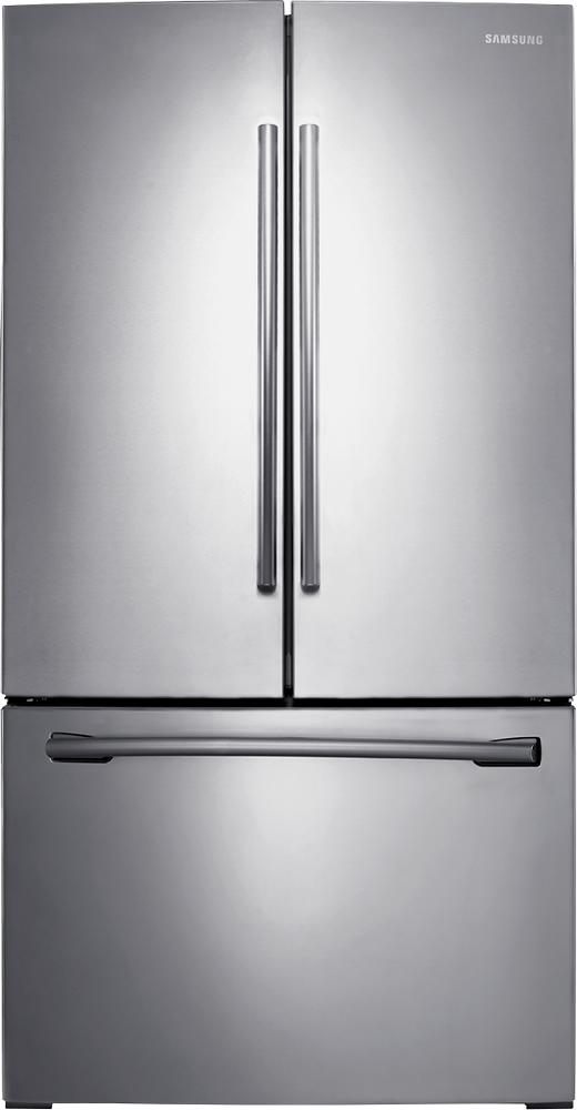 Samsung - 25.5 Cu. Ft. French Door Refrigerator - Stainless-Steel