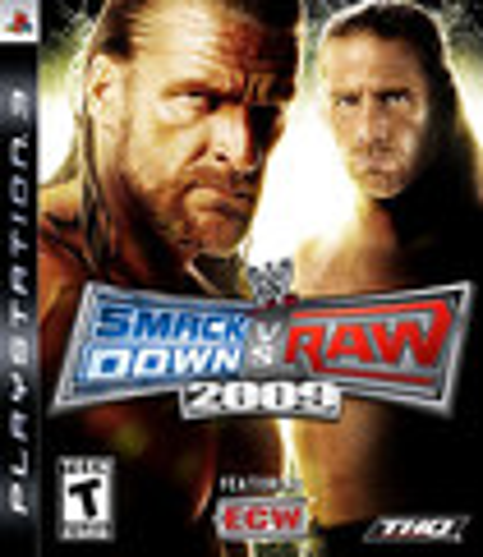 WWE SmackDown vs. Raw 2009 - PlayStation 3