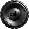 "Polk Audio - 12"" Dual-Voice-Coil 4-Ohm Subwoofer - Black"