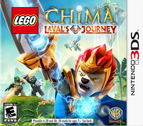 3DS-LEGO LEGENDS OF CHIMA:...