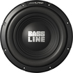 "Alpine - Bassline 12"" Single-Voice-Coil 4-Ohm Subwoofer - Black"
