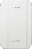 Samsung - Book Cover Stand Case for Samsung Galaxy Note 8.0 - White