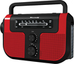 Weather X - AM/FM Weather-Band Radio - Red