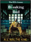 Breaking Bad: The Fifth Season - All Hail the King [3 Discs/Unrated] (Unrated) (DVD)