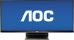 "AOC - 29"" IPS LED HD 21:9 Ultrawide Monitor - Black"