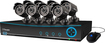 Swann - Pro-Series 9-Channel, 8-Camera Indoor/Outdoor Surveillance System - Black