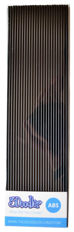 3Doodler - Single-Color ABS Pack (25-Pack) - Black