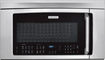 Electrolux - 1.8 Cu. Ft. Over-the-Range Microwave - Stainless-Steel