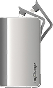 myCharge - Hub 6000 Portable Power Bank Rechargeable Battery - Silver