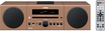 Yamaha - 30W Micro Component Bluetooth Wireless System with Apple® iPod®/iPhone® Dock - Light Brown
