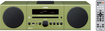 Yamaha - 30W Micro Component Bluetooth Wireless System with Apple® iPod®/iPhone® Dock - Green