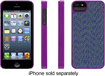 Griffin Technology - Dobby Dot Case for Apple® iPhone® 5 and 5s - Violet