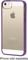Griffin Technology - Reveal Case for Apple® iPhone® 5 and 5s - Purple