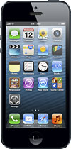 T-Mobile Prepaid - Apple iPhone® 5 with 16GB Memory No-Contract Mobile Phone - Black & Slate